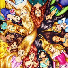 coleção de princesas disney - Pesquisa Google