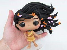 Pop Custom, Custom Funko Pop, Funko Pop Vinyl, Pop Figures Disney, Pop Vinyl Figures, Pocahontas, Kawaii 365, Funko Pop Anime, Funko Pop Dolls