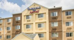 Fairfield Inn & Suites Branson Branson Fairfield Inn & Suites Branson is located off of Highway 76, across the street from the Titanic Museum and offers free wireless internet.  The Fairfield Inn & Suites Branson offers dry cleaning services.