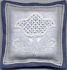 Italian Needlework: April 2010 - Riamo d'Assia or Schwalm Whitework Embroidery