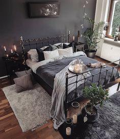 Home decor bedroom colors home decor bedroom in 2019 Bohemian Interior Design, Home Interior Design, Decor Room, Home Decor Bedroom, Bedroom Ideas, Bedroom Inspo, Bedroom Furniture, Tiny Bedroom Design, Warm Bedroom