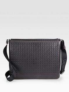 8dffffbd8e Salvatore Ferragamo Gamma Messenger Bag on shopstyle.com