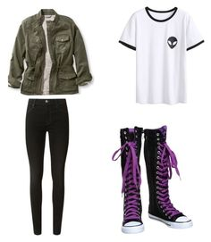 """""""My Killjoy Outfit."""" by drumline4life on Polyvore featuring J Brand"""
