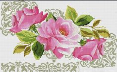 VK is the largest European social network with more than 100 million active users. Cross Stitch Bird, Cross Stitch Flowers, Counted Cross Stitch Patterns, Cross Stitch Charts, Cross Stitching, Cross Stitch Embroidery, Hand Embroidery, Beautiful Flower Designs, Bunch Of Flowers