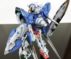 GUNDAM GUY: MG 1/100 Gundam Exia - Customized Build