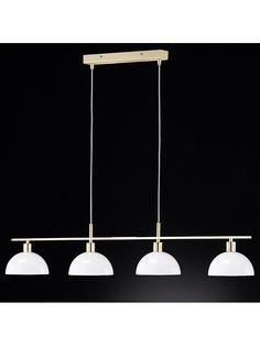 """Lampa wisząca """"Pora"""" w kolorze mosiądzu - szer. 105 cm kampania: Honsel - lampy  326.00 zł**  -45%* 592.00 zł*"""