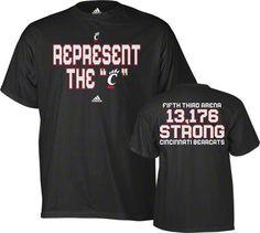 Cincinnati Bearcats t-shirt