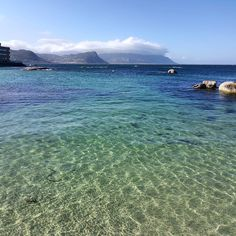 Crystal clear waters. #capetown #simonstown #travel #oceans #sea