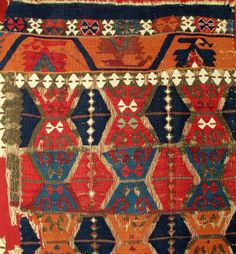 Mark Berkowich will exhibit this Anatolian kilim at the Antique Rug & Textile Show in San Francisco 17-20 October 2013