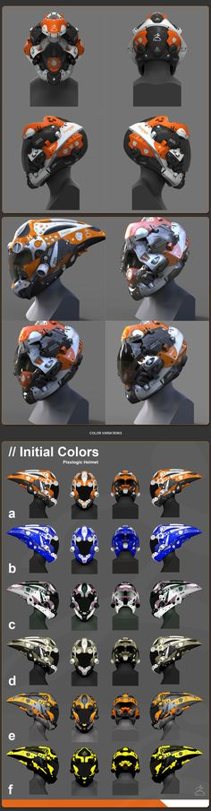 ZBrush Helmet Design Update #8