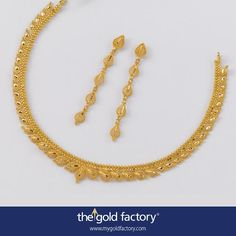 How To Clean Gold Jewelry With Baking Soda Gold Earrings Designs, Gold Jewellery Design, Necklace Designs, Gold Necklace Simple, Gold Jewelry Simple, Gold Necklaces, Necklace Set, Jewelry Patterns, Vogue