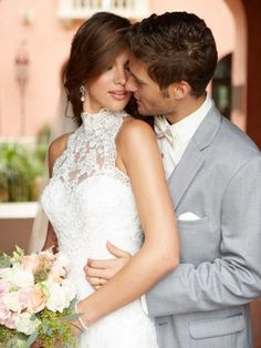 Turtleneck Wedding! Allure Bridals Romance Collection