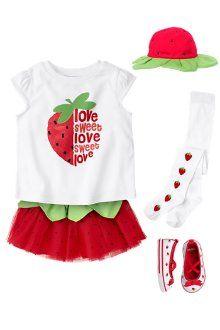 Gymboree, strawberry tutu
