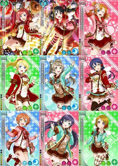 february idolised / Valentines card set