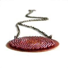 Cyber Monday Etsy Sale Red Sepia Patina Brass by balanced on Etsy, $47.60