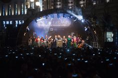 Our star studded stage and evening of elegant entertainment made the #RegentStreet #Christmas Lights this year truly unforgettable.