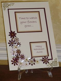 Rainbow retirement card s6 crafting great retirement card non retirement card m4hsunfo Gallery