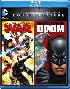 Justice League: War/Justice League: Doom [Blu-ray]