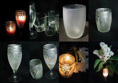 Ideas art for everyone, DIY - Joanna Wajdenfeld: Lanterns effect of frost