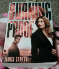 Burning Proof by Janice Cantore--Book Review