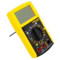 Stanley Cordless Multimeter Stanley Cordless Multimeter.This cordless multimeter is specially designed for measuring dc voltage ac voltage dc current resistance continuity temperature and diode test. (Barcode EAN=3253560773649) http://www.MightGet.com/january-2017-13/stanley-cordless-multimeter.asp