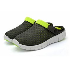 US Size 5-10 Men Sandals Slipper Comfortable Breathable Slip On Beach Sandals Fl - US$19.22