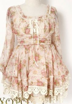 Size: Bust 84 Waist 64 (stretch to 80) Skirt Length 78 (upper body wearing measurement) Sleeve 63 Please note this is not REAL liz lisa dress it is a replica and please also note it comes from out suppliers in china and can take up to 5 weeks please be patient.