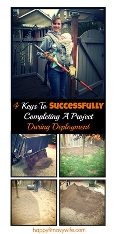 """""""4 Keys to successfully completing a project during deployment"""" Nice to hear I'm not the only one who has deployment projects! Great tips!"""