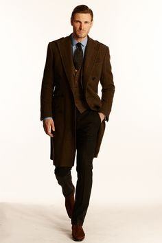 Discover classic masculine looks from the Ralph Lauren Fall/Winter Men's Collection