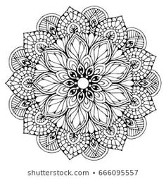 Find Mandalas Coloring Book Decorative Round Ornaments stock images in HD and millions of other royalty-free stock photos, illustrations and vectors in the Shutterstock collection. Mandala Artwork, Mandalas Painting, Mandalas Drawing, Mandala Coloring Pages, Coloring Pages To Print, Coloring Book Pages, Pattern Floral, Mandala Pattern, Yoga Logo