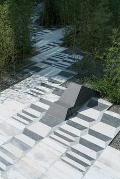6-Sunken-office-courtyard-bamboo-forest « Landscape Architecture Works   Landezine
