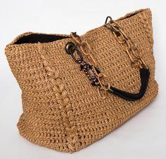 Vintage and Designer Tote Bags – For Sale at Lanvin Rafia Cabas Tote in Beige 2 Handmade Handbags, Handmade Bags, Bag Women, Diy Purse, Crochet Handbags, Beaded Bags, Knitted Bags, Luxury Bags, Bag Sale