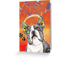 불독 인사말 카드