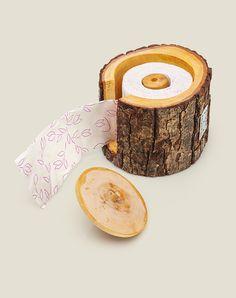 держатель туалетной бумаги Ближе к природе, купить в интернет магазине в Москве, оригинальные и необычные подарки