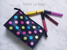 4 Make up bags under $10