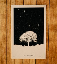 Big Dipper Art Print by Ronlewhorn Industries on Scoutmob