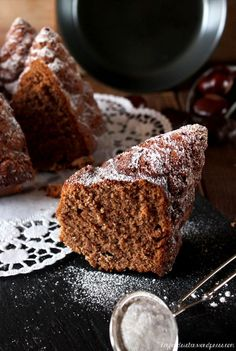 Rezept Maronengugelhupf Hey Foodsister Cupcakes, Cupcake Cakes, Nordic Ware, Sweet Cakes, Brownies, Banana Bread, Cake Recipes, Recipies, Schokolade