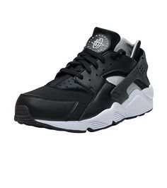 NIKE SPORTSWEAR MENS AIR HUARACHE SNEAKER Black Nike Low Tops 7a23a3539
