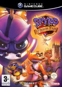 Spyro a Hero's Tail: I chose Spyro because it was my favourite video game when I was a kid.
