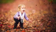 Fallen Leaves as a Secret Weapon for Expressive Child Portraits — #Photography via @fstoppers