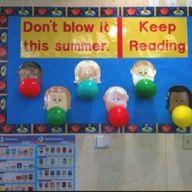 library bulletin board ideas | Summer Bulletin Board for Library
