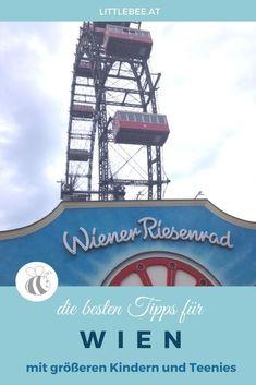 Urlaub in Wien mit Kindern - TIPPS für deine Städtereise in Wien mit größeren Kindern und Teenies - Insidertipps