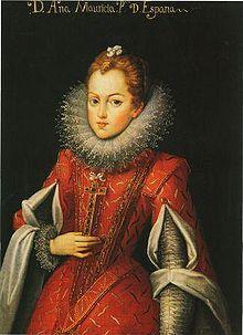 Ana de Áustria, ( Filha de Filipe III da Espanha) rainha de França ( mae de Luis XIV o rei sol )– Mazarino ( os tres mosqueteiros A Dumas )