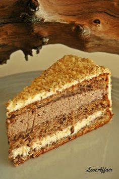 ... LoveAffair …: Torta od Oraha i Vanilije / Walnut Vanilla Cake