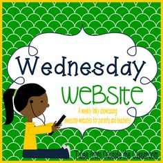 Wednesday Website | Tales from Outside the Classroom: Wednesday Website