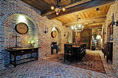 1358 Page Rd , Nashville, TN is currently not for sale. single-family home is a 6 bed, bath property. This home was built in 1999 and last sold on for. View more property details, sales history and Zestimate data on Zillow. Brick Flooring, Basement Flooring, Floors, Wine Cellar Design, Exposed Brick, Traditional House, Beautiful Homes, Real Estate, Patio