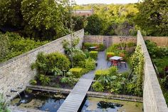 Small Garden Design Ideas 55 Small Urban Garden Design Ideas And Pictures - Shelterness Small Urban Garden Design, Small City Garden, Small Space Gardening, Small Gardens, Urban Gardening, Organic Gardening, Big Garden, Garden Pond, Indoor Gardening