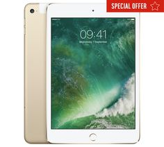 Buy iPad mini 4 Wi-Fi 128GB - Gold at Argos.co.uk, visit Argos.co.uk to shop online for iPad, iPad, tablets and E-readers, Technology