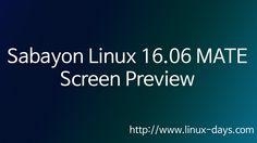 [linux-days.com] Sabayon Linux 16.06 MATE Preview(1080p)
