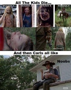 You can't deny it at this point: Carl is a badass.